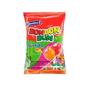 Bon Bon Bum Surtido Paquete x 24und
