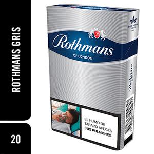 Cigarrillos Rothmans Gris x 20Unds