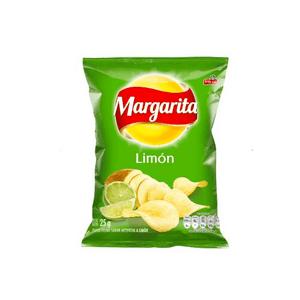 Papas Margarita Limon 25g